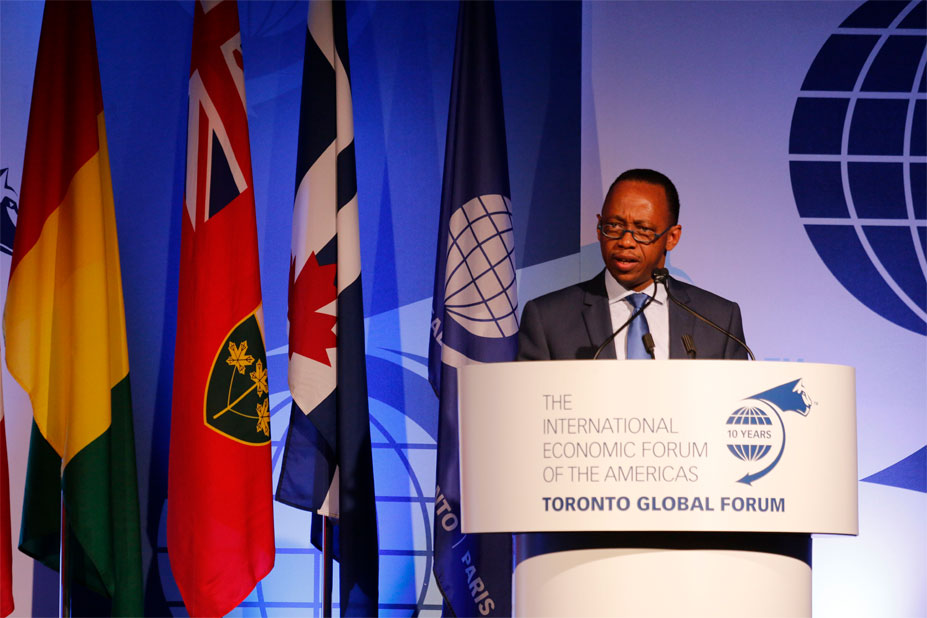 Mamady Youla, Prime Minister of Guinea - Toronto Global Forum 2016