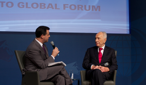 Shimon Peres, Former President and Former Prime Minister of Israel - Toronto Global Forum 2015