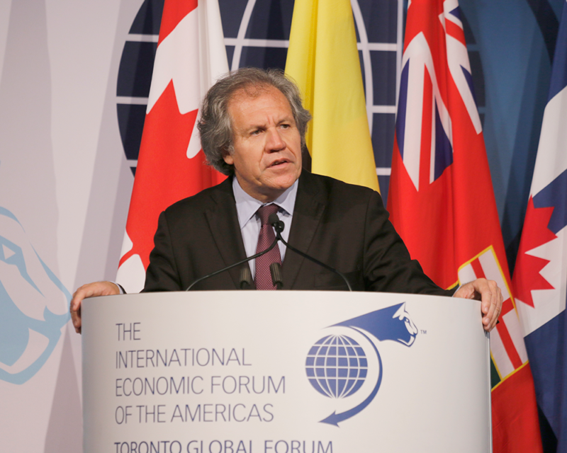 Luis Almagro Lemes, Secretary General, Organization of American States - Toronto Global Forum 2015