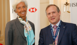 Christine Lagarde, Managing Director, International Monetary Fund (IMF) and Louis Audet, President and Chief Executive Officer, Cogeco and Cogeco Communications - Toronto Global Forum 2016