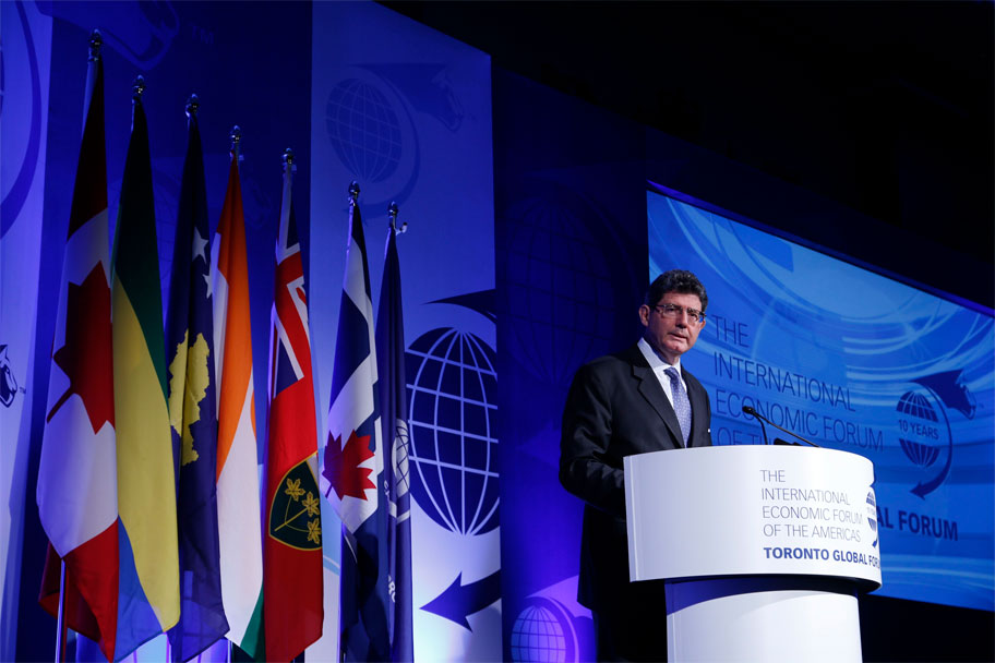 Joaquim Levy, Managing Director and Chief Financial Officer, The World Bank Group - Toronto Global Forum 2016