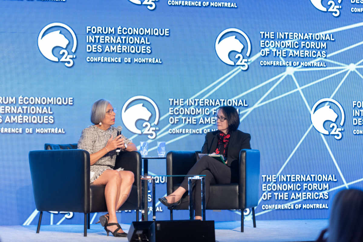 Kristine L. Svinicki, Chairman, United States Nuclear Regulatory Commission (NRC) and Rumina Velshi, President and Chief Executive Officer, Canadian Nuclear Safety Commission (CNSC) - Conference of Montreal 2019