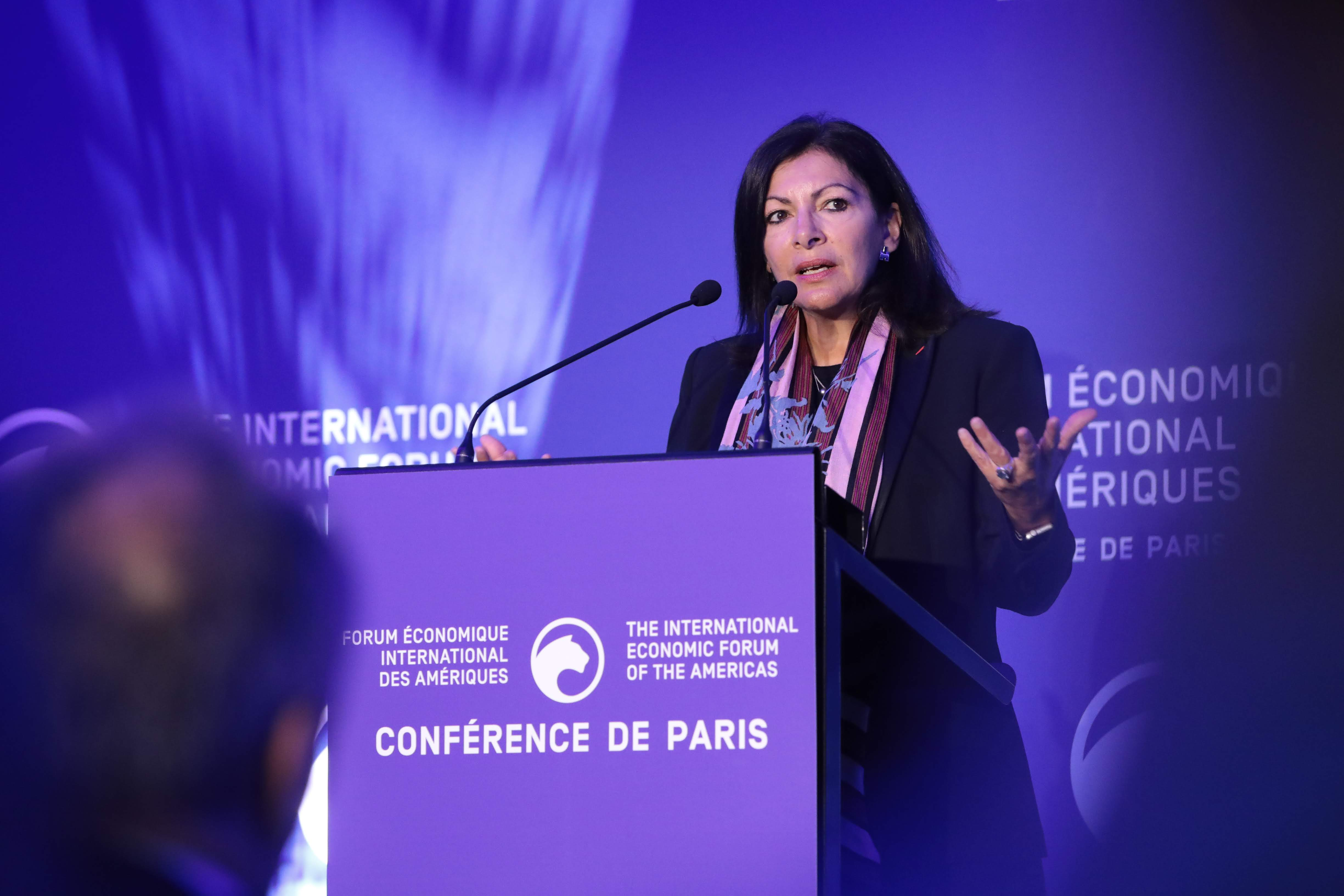 Anne Hidalgo Mayor, City of Paris - Conference of Paris 2019