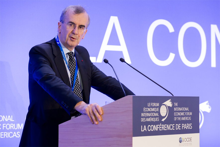 François Villeroy de Galhau, Governor, Bank of France - Conference of Paris 2017