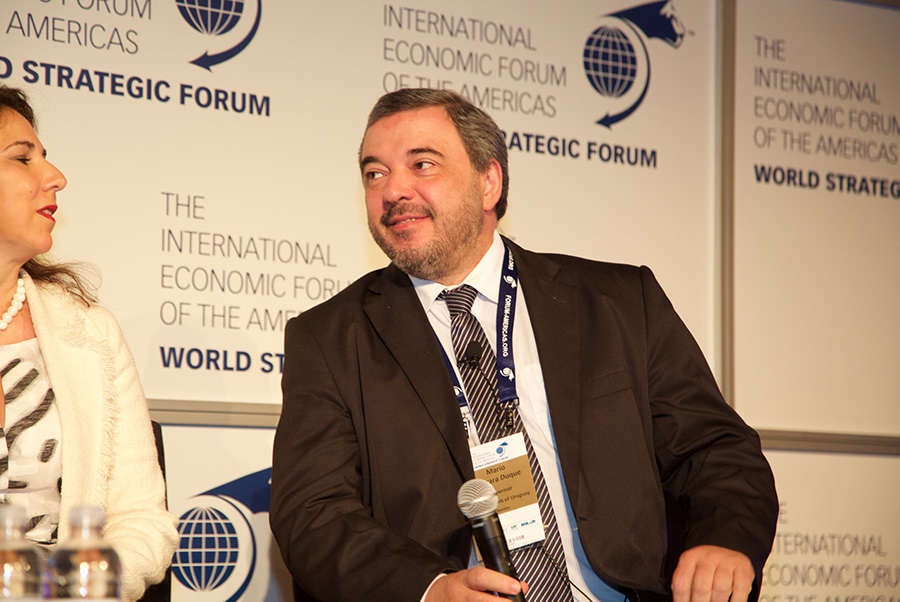 Mario Bergara, Governor, Central Bank of Uruguay - World Strategic Forum 2018