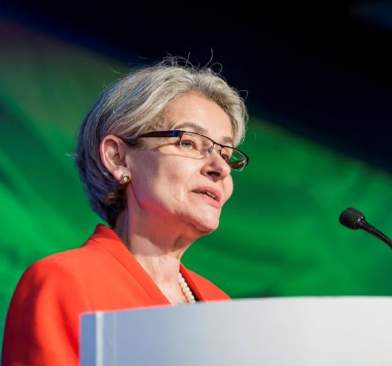 Irina Bokova, Director General, United Nations Educational, Scientific and Cultural Organization (UNESCO) - Conference of Montreal 2016