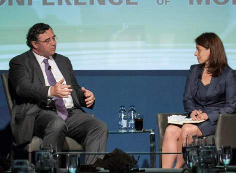 Patrick Pouyanné, President of the Executive Committee and CEO, Total and Elena Cherney, Canada Bureau Chief and Global Resources Editor, The Wall Street Journal - Conference of Montreal 2015