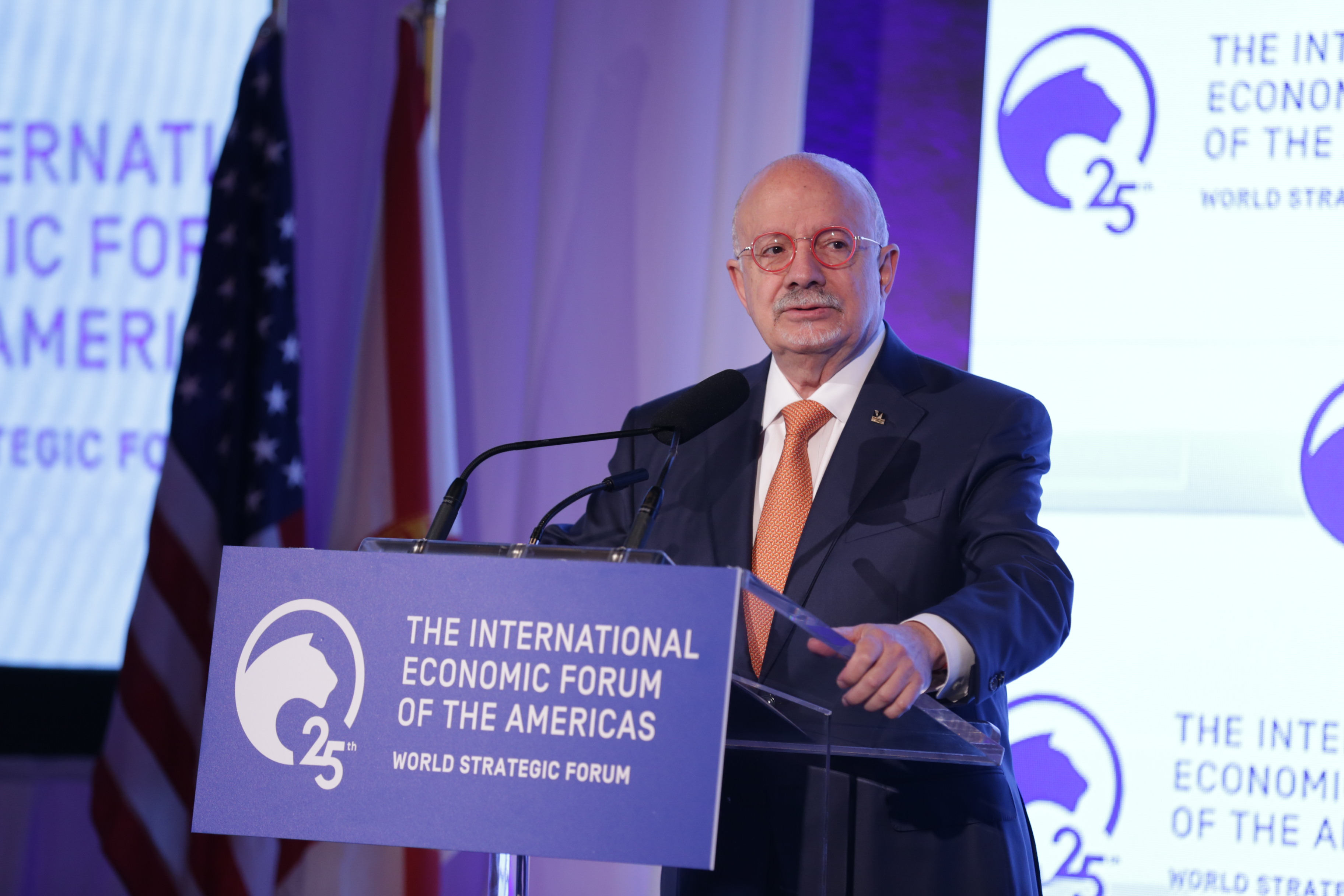 Eduardo J. Padron, President, Miami Dade College (MDC); and Chairman of the Advisory Board, World Strategic Forum 2019