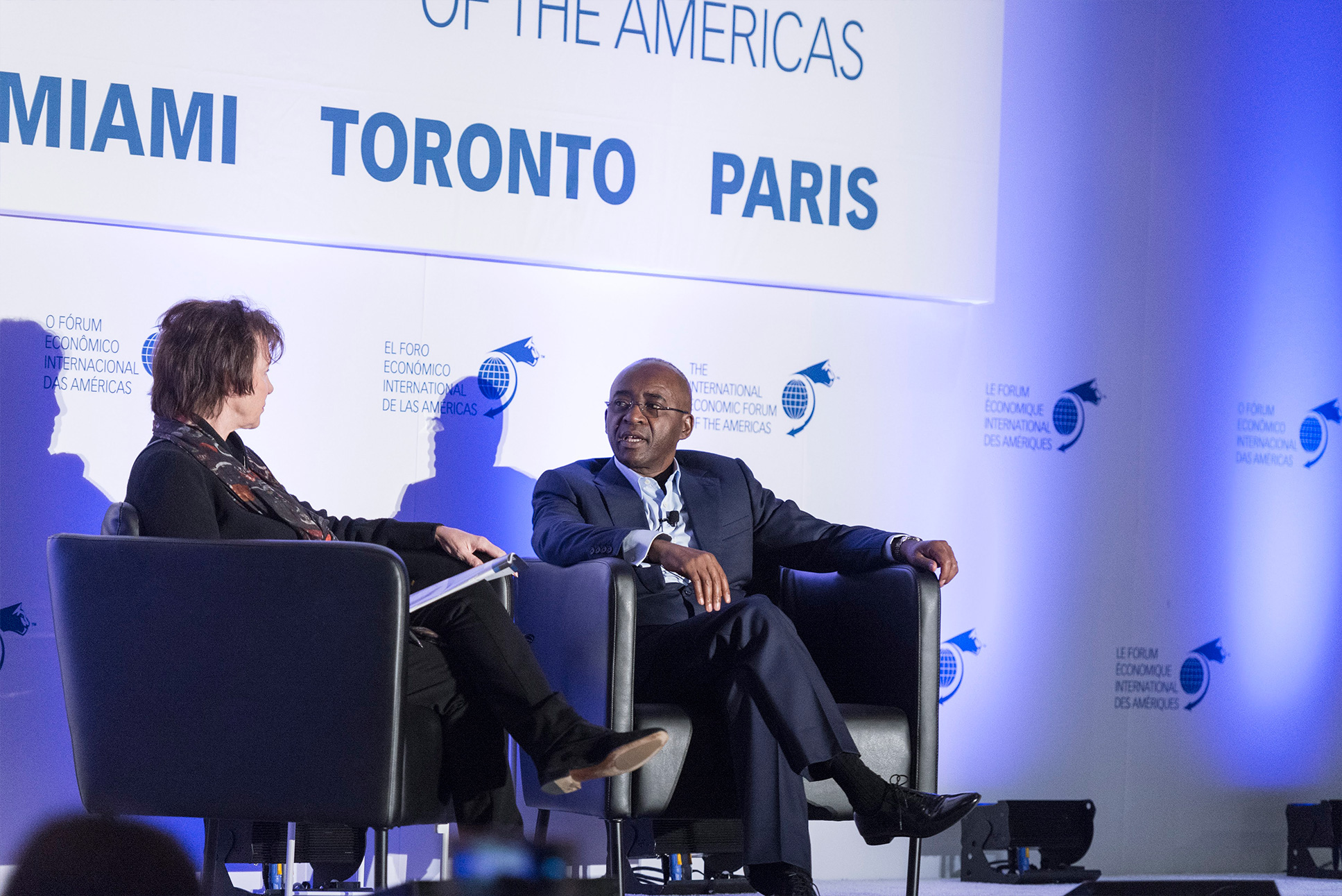 Strive Masiyiwa, Executive Chairman, Econet Group - Conference of Montreal 2018