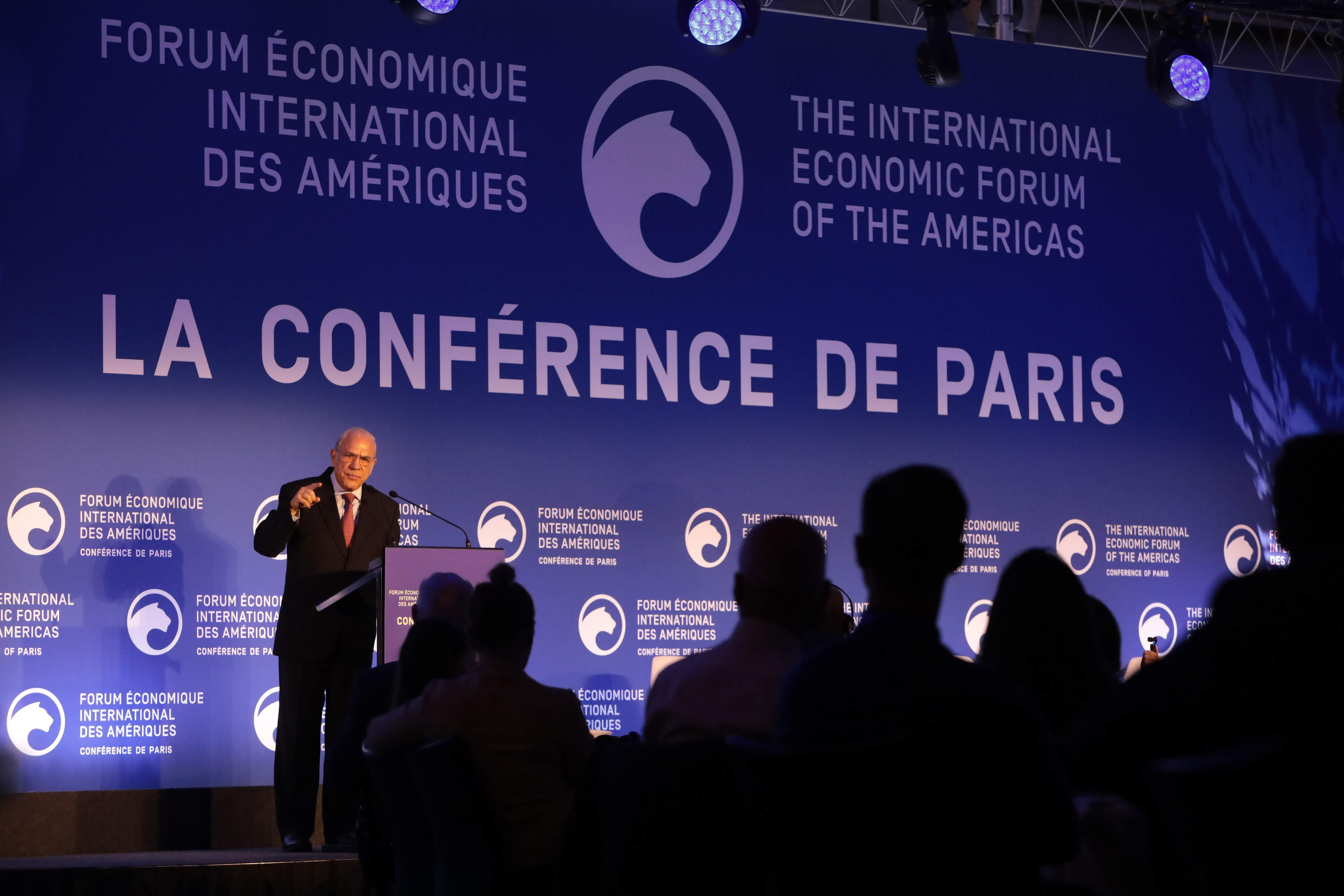 Ángel Gurría Secretary-General, Organisation for Economic Co-operation and Development (OECD) - Conference of Paris 2019