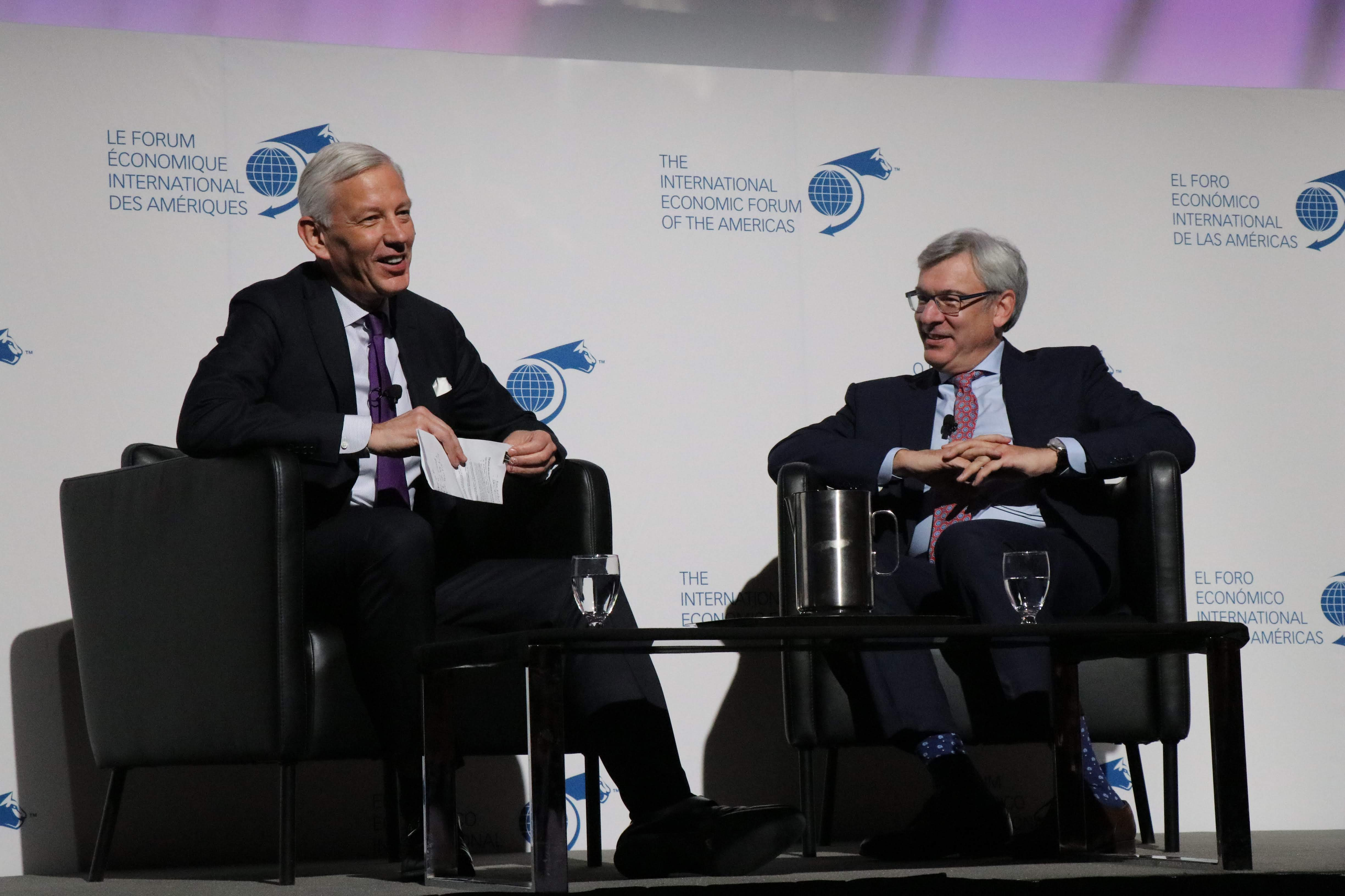 Luncheon - David McKay, President and Chief Executive Officer, RBC interviewed by Dominic Barton, Global Managing Partner Emeritus, McKinsey & Company