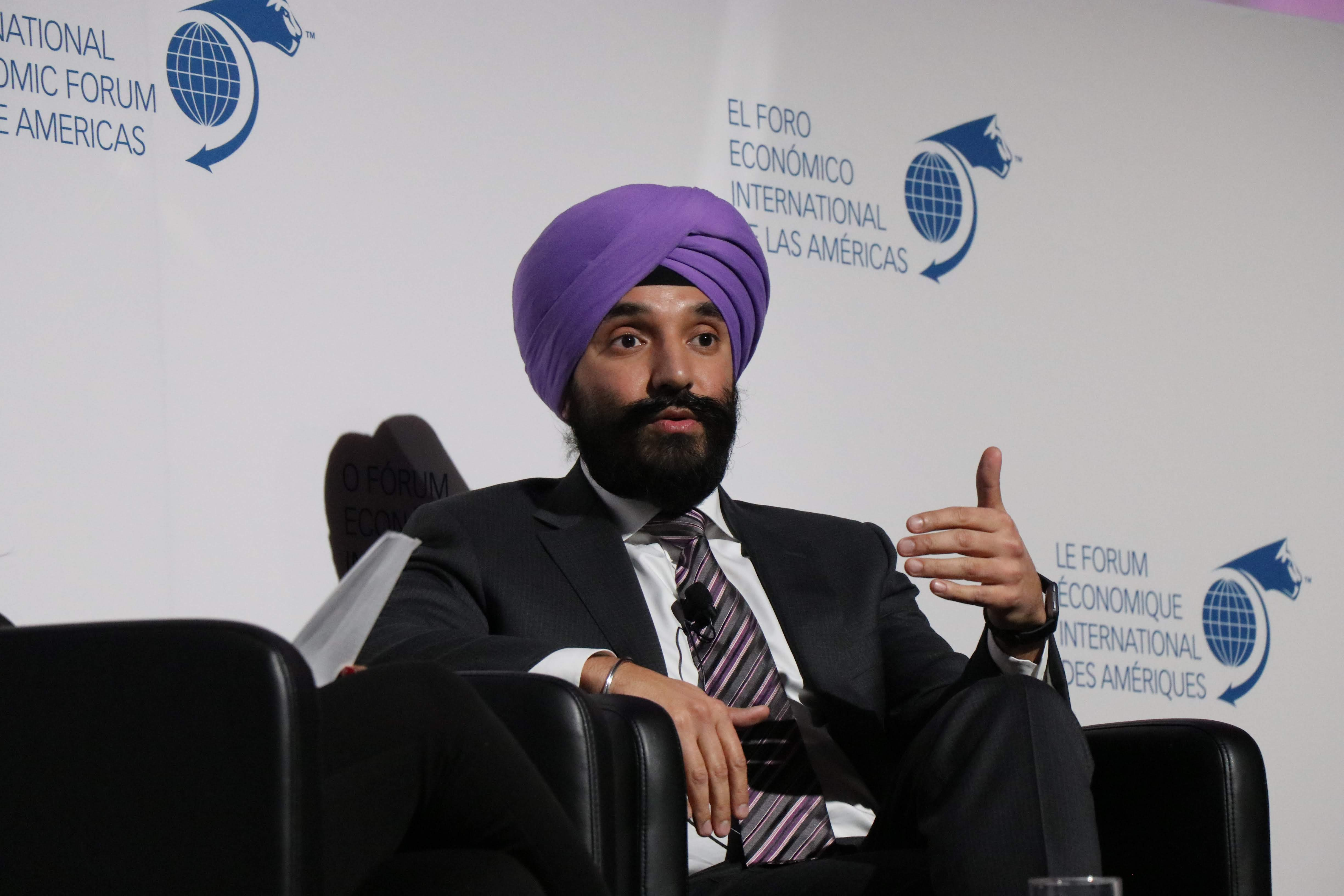 Fireside Chat - Navdeep Bains, Minister for Innovation, Science and Economic Development, Canada