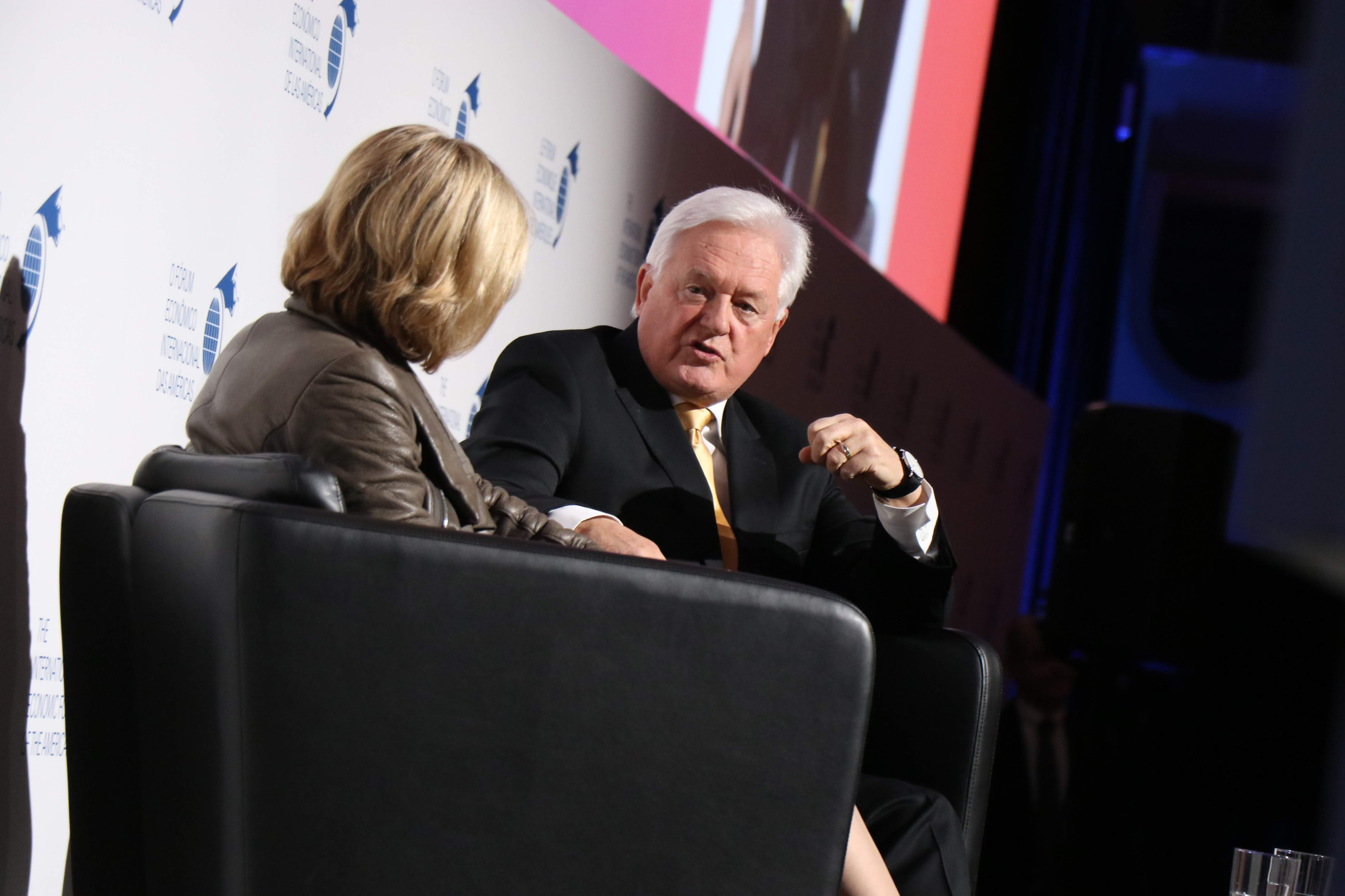 Luncheon - John McFarlane, Chairman, Barclays interviewed by Janet De Silva, President and Chief Executive Officer, Toronto Region Board of Trade (TRBOT)