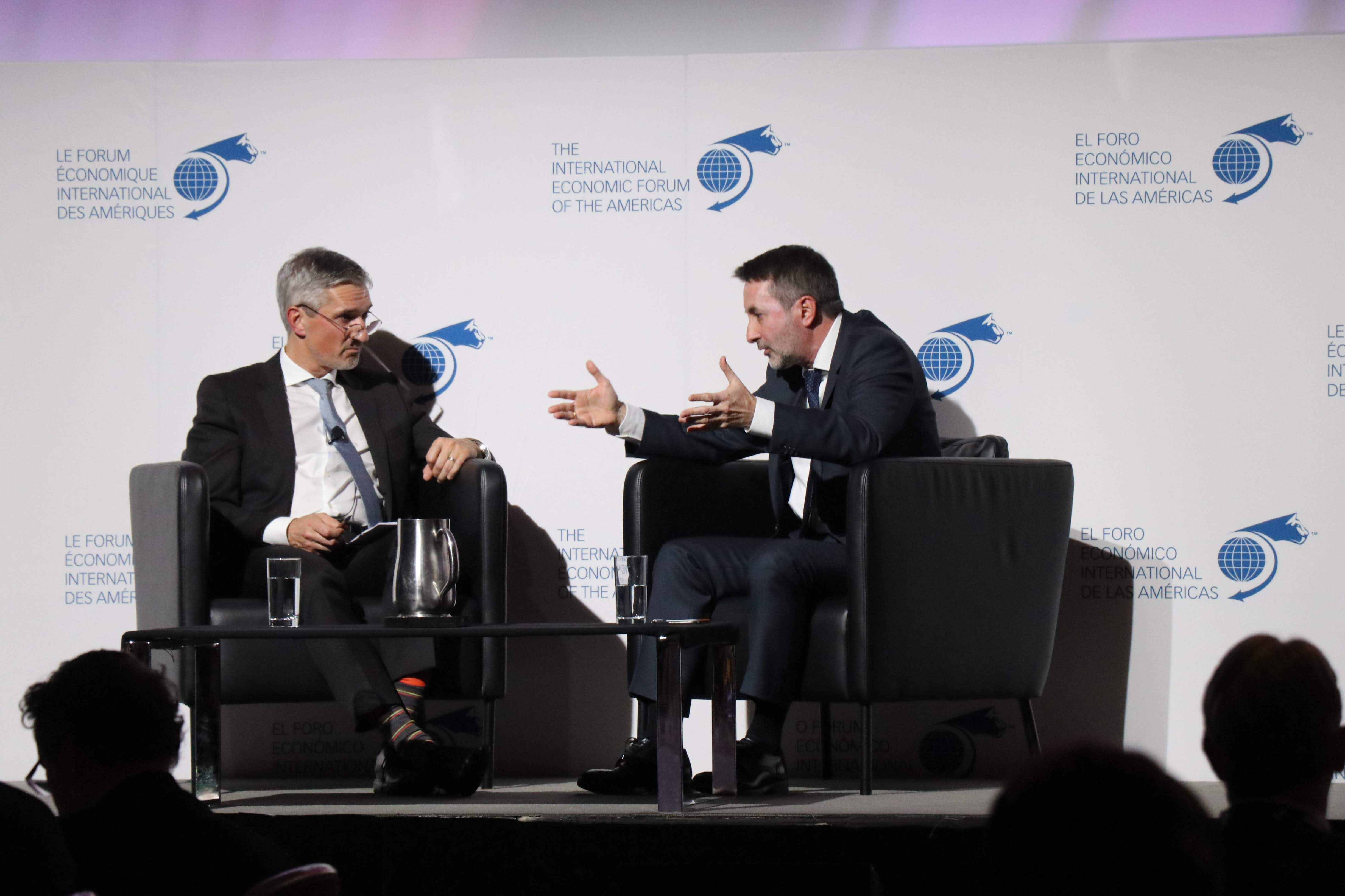 Luncheon - Josu Jon Imaz, Chief Executive Officer, Repsol interviewed by Christoph Frei, Secretary General and Chief Executive Officer, World Energy Council (WEC)