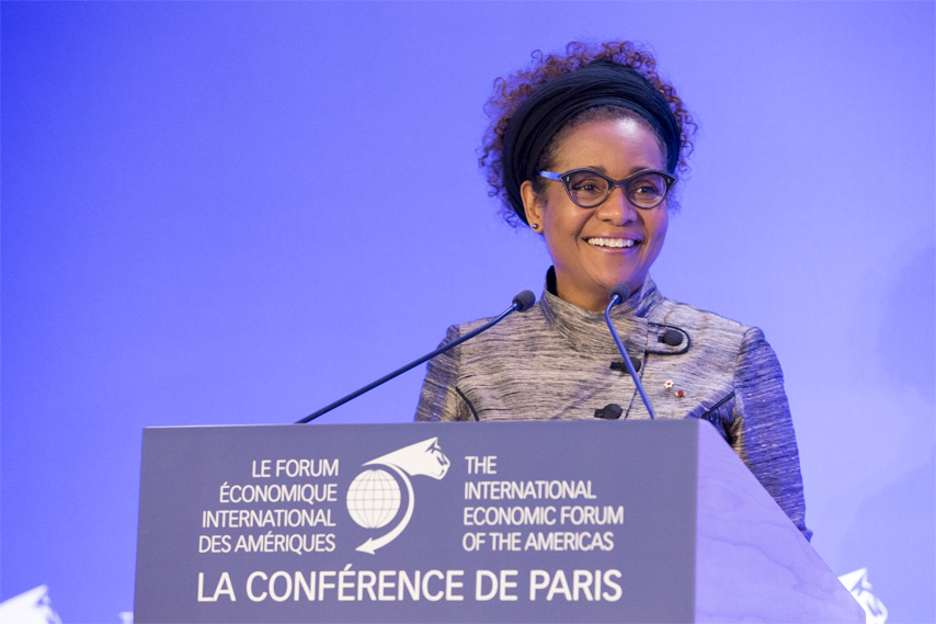 Michaëlle Jean Secretary General, OIF - Conference of Paris 2017