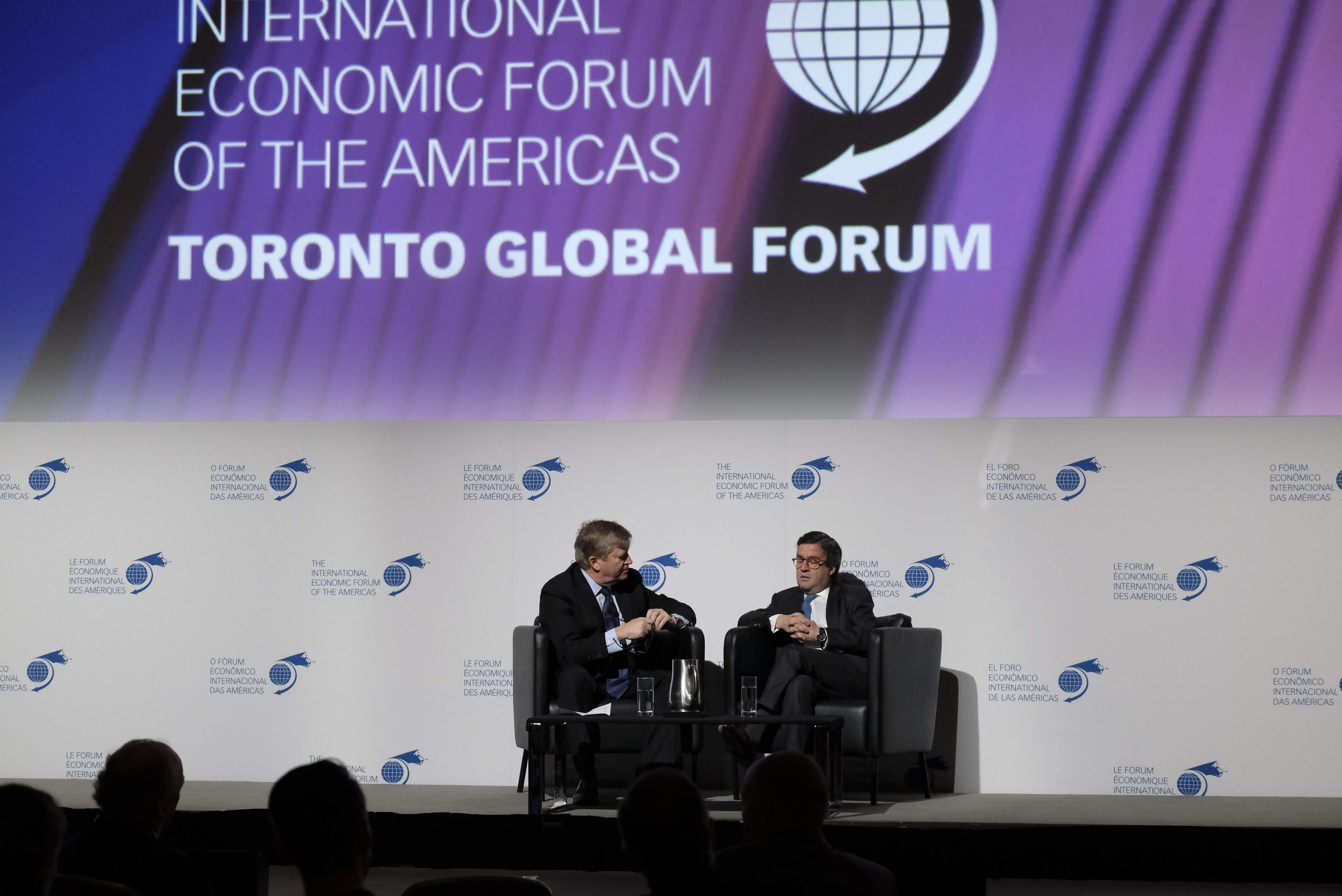 Fireside Chat - Luis Alberto Moreno, President, Inter-American Development Bank (IDB) interviewed by Tom Clark, Chair, Global Public Affairs
