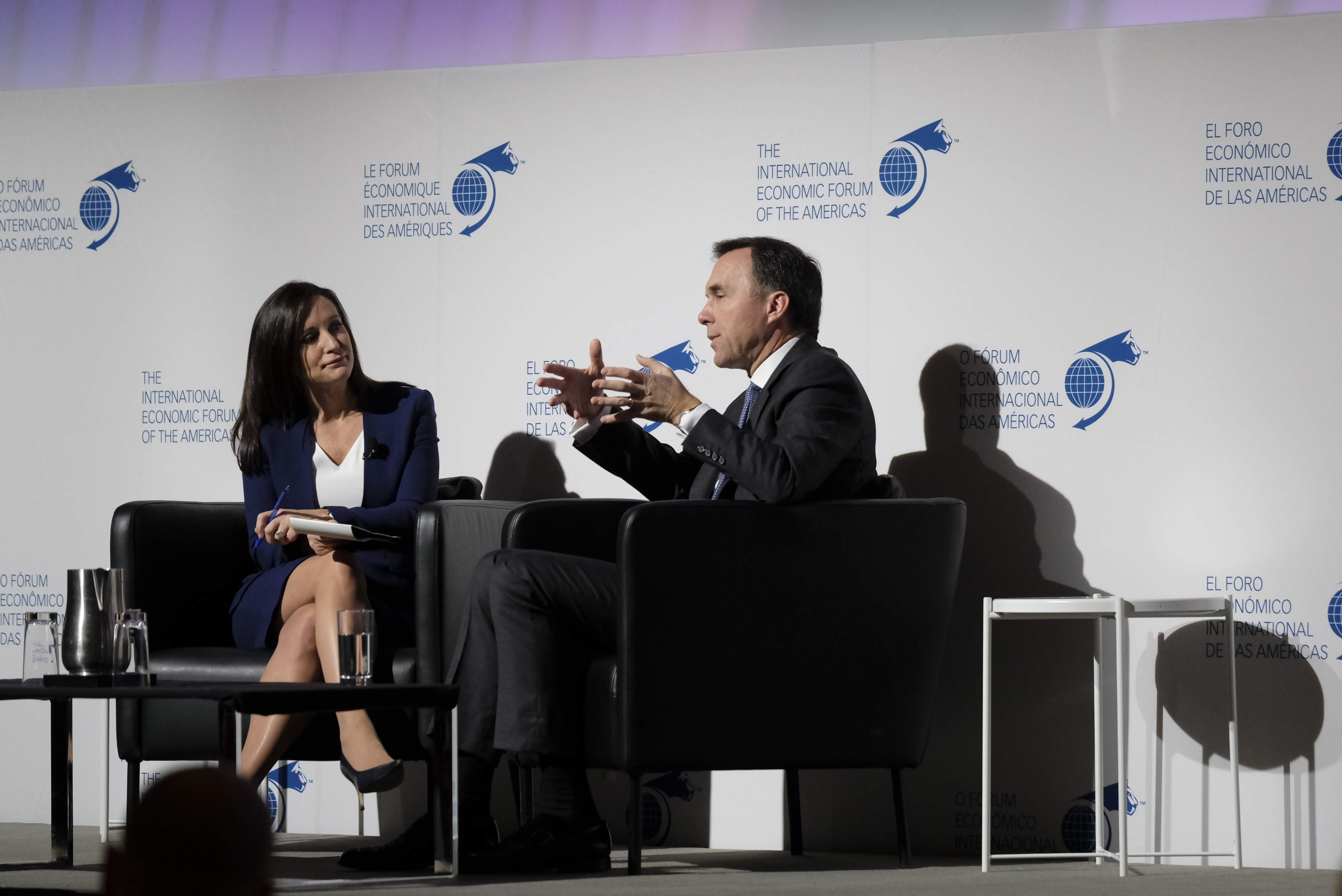 Fireside Chat - William Francis Morneau, Minister of Finance, Canada interviewed by Amanda Lang, Anchor, BNN Bloomberg