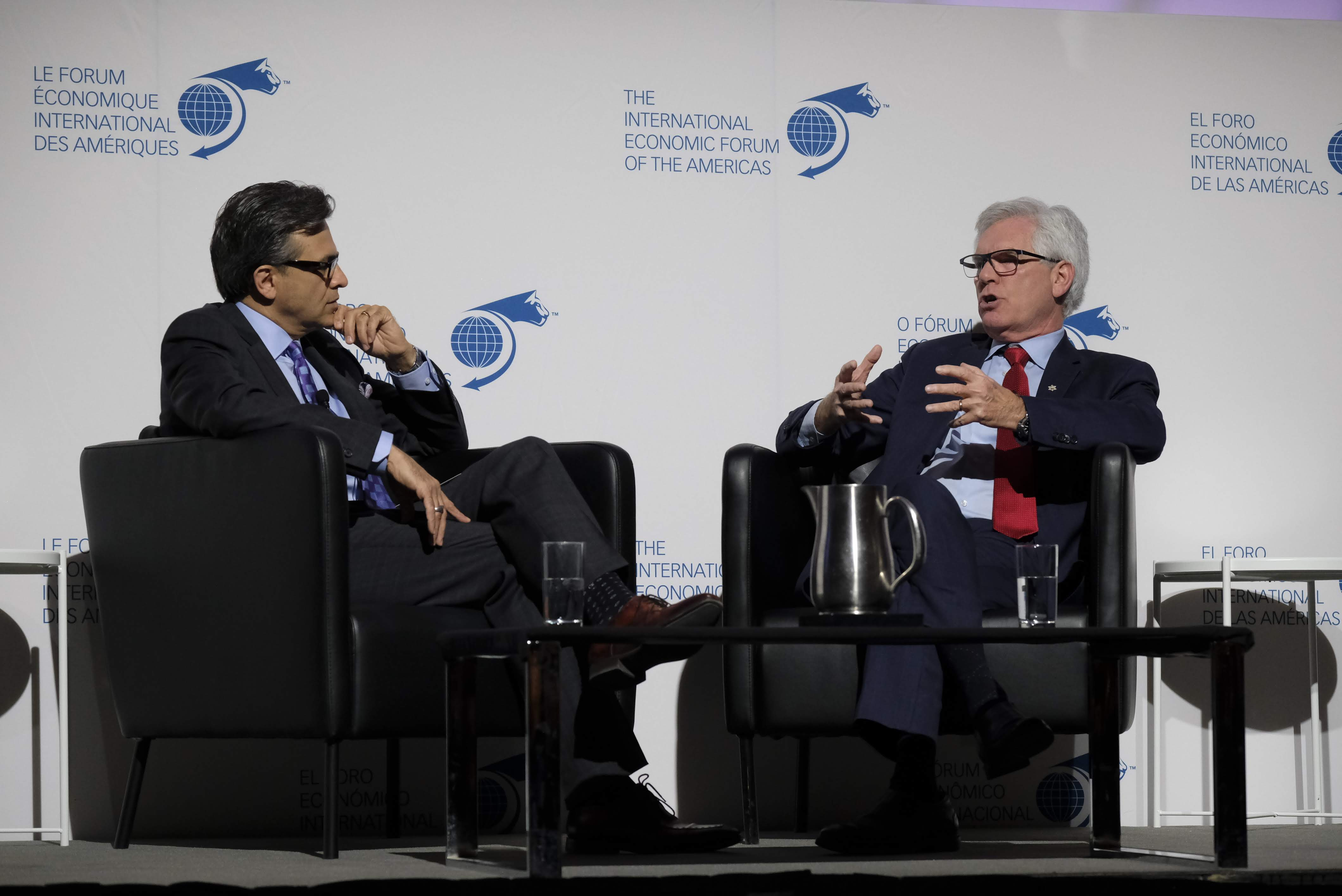 Fireside Chat - James Gordon Carr, Minister of International Trade Diversification, Canada interviewed by Goldy Hyder, President and Chief Executive Officer, Business Council of Canada