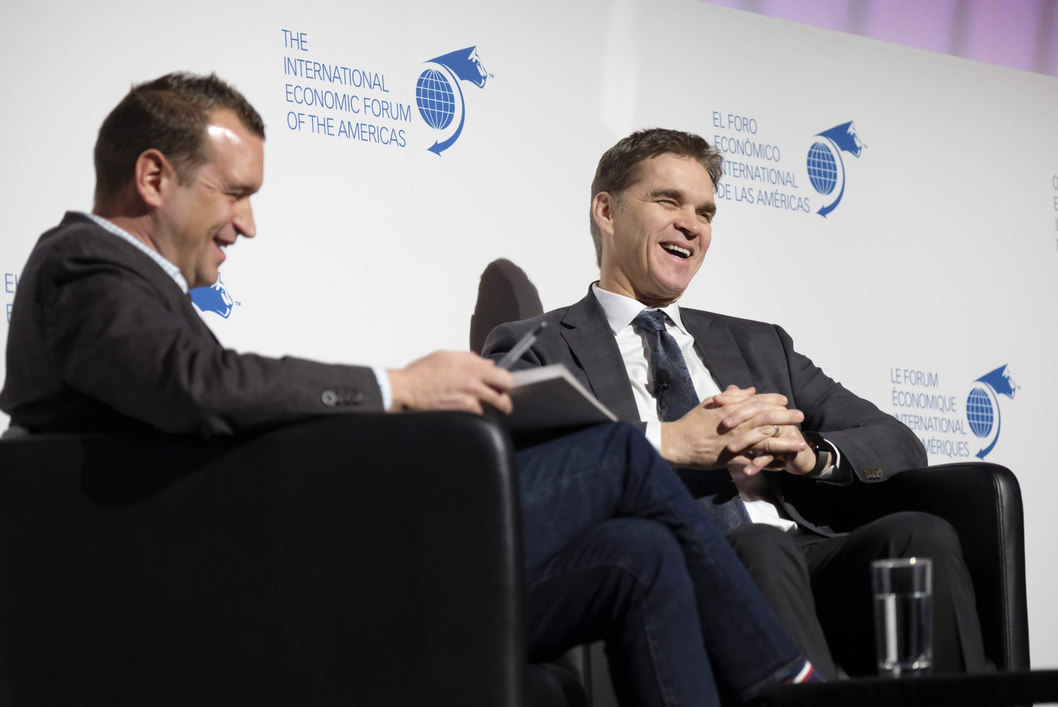 Fireside Chat - Luc Robitaille, President, Los Angeles Kings interviewed by Jeremiah McMillan, Producer and Partner, Global Content Group