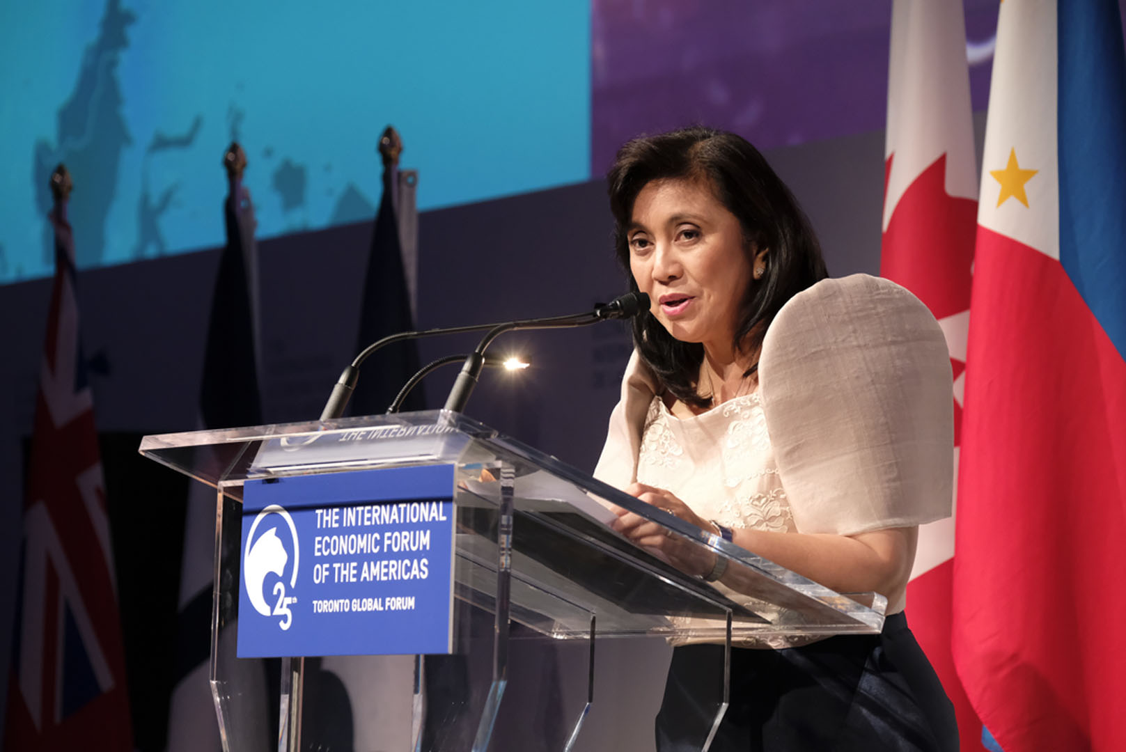 Leni Robredo, Vice-President of the Philippines