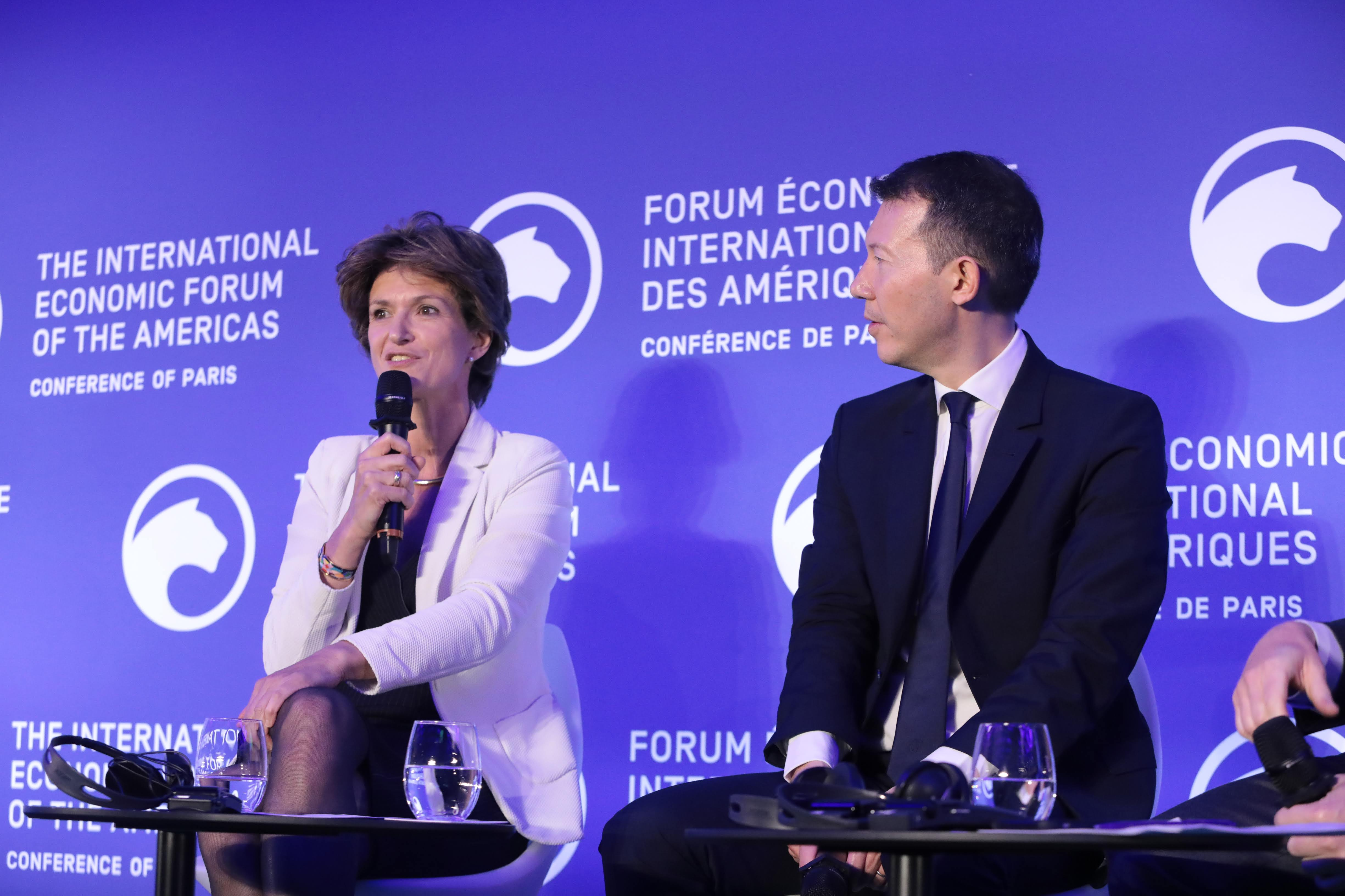 Isabelle Kocher, Chief Executive Officer, ENGIE and Ben Smith, Chief Executive Officer, Air France-KLM - Conference of Paris 2019