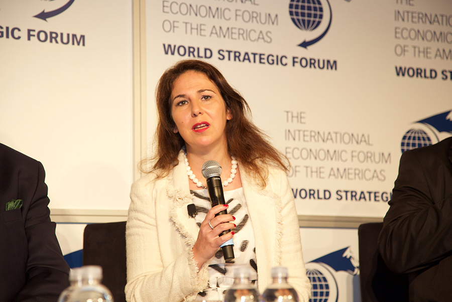 Ana Teresa Lehmann, Secretary of State of Industry, Portugal - World Strategic Forum 2018