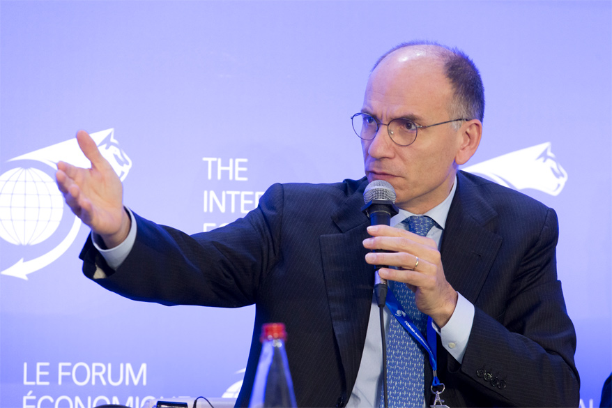 Enrico Letta Dean, Paris School of International Affairs (PSIA), Sciences Po Paris; President, Jacques Delors Institute; and Prime Minister of Italy (2013-2014) - Conference of Paris 2017