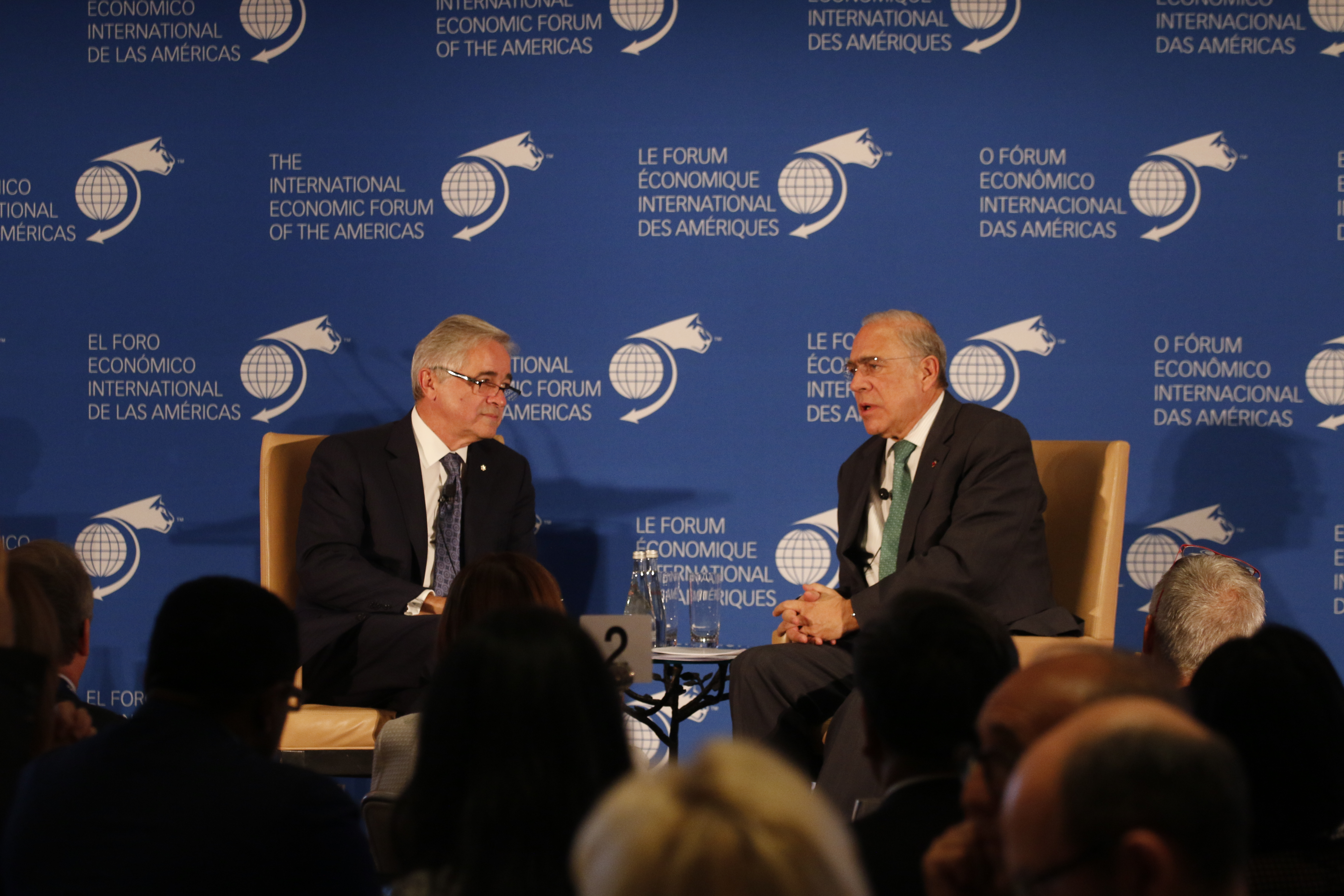 Ángel Gurría, Secretary-General, Organisation for Economic Co-operation and Development (OECD), interviewed by Brian Tobin