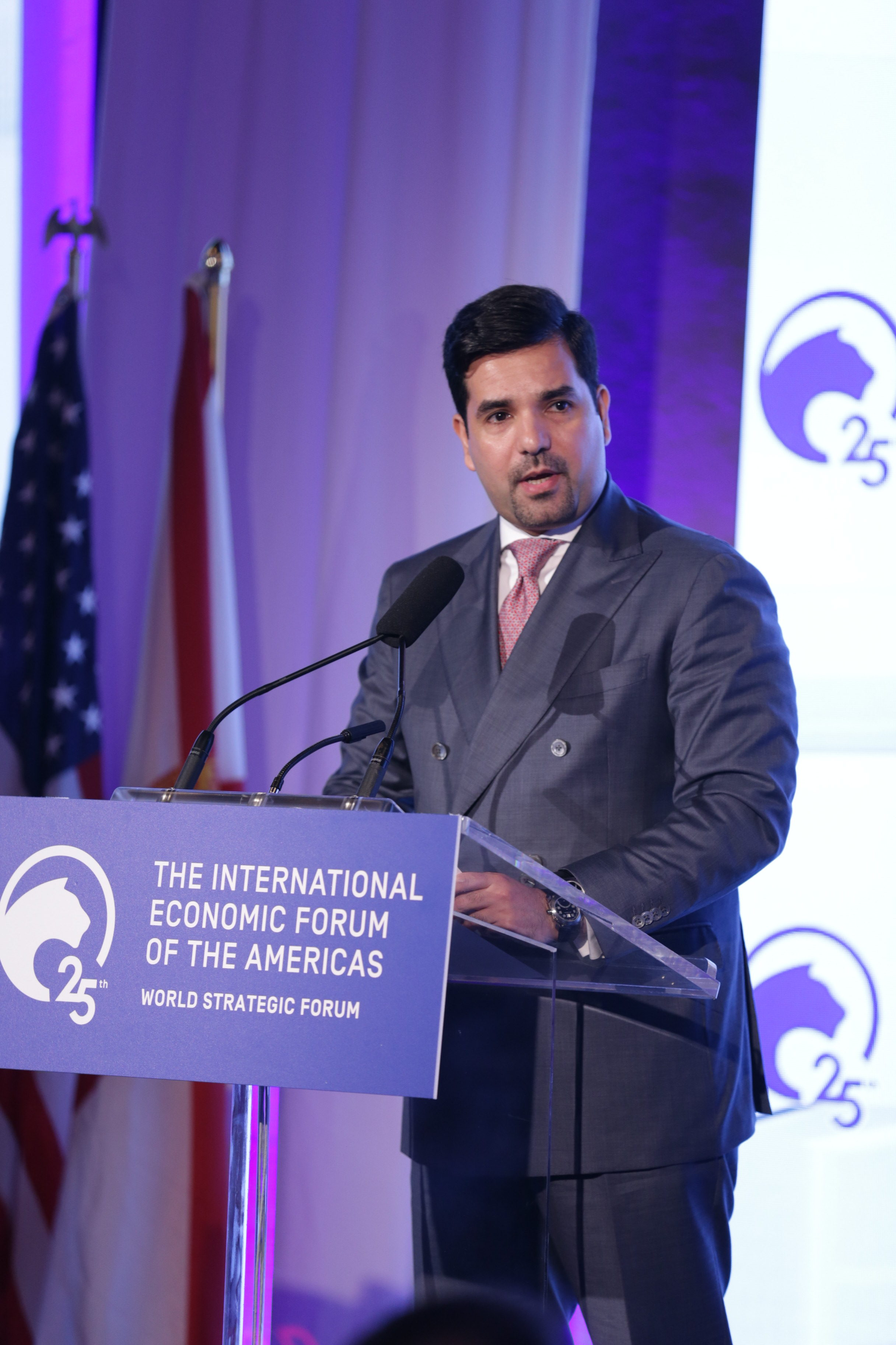 Sheikh Meshal bin Hamad Al Thani, Ambassador of the State of Qatar to the United States of America - World Strategic Forum 2019