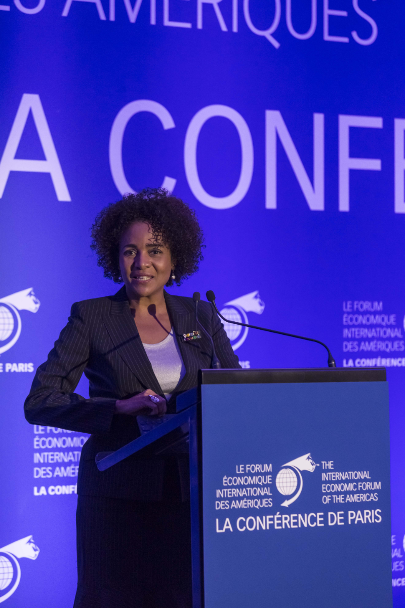 Michaëlle Jean, Secretary General, International Organisation of la Francophonie (IOF) - Conference of Paris