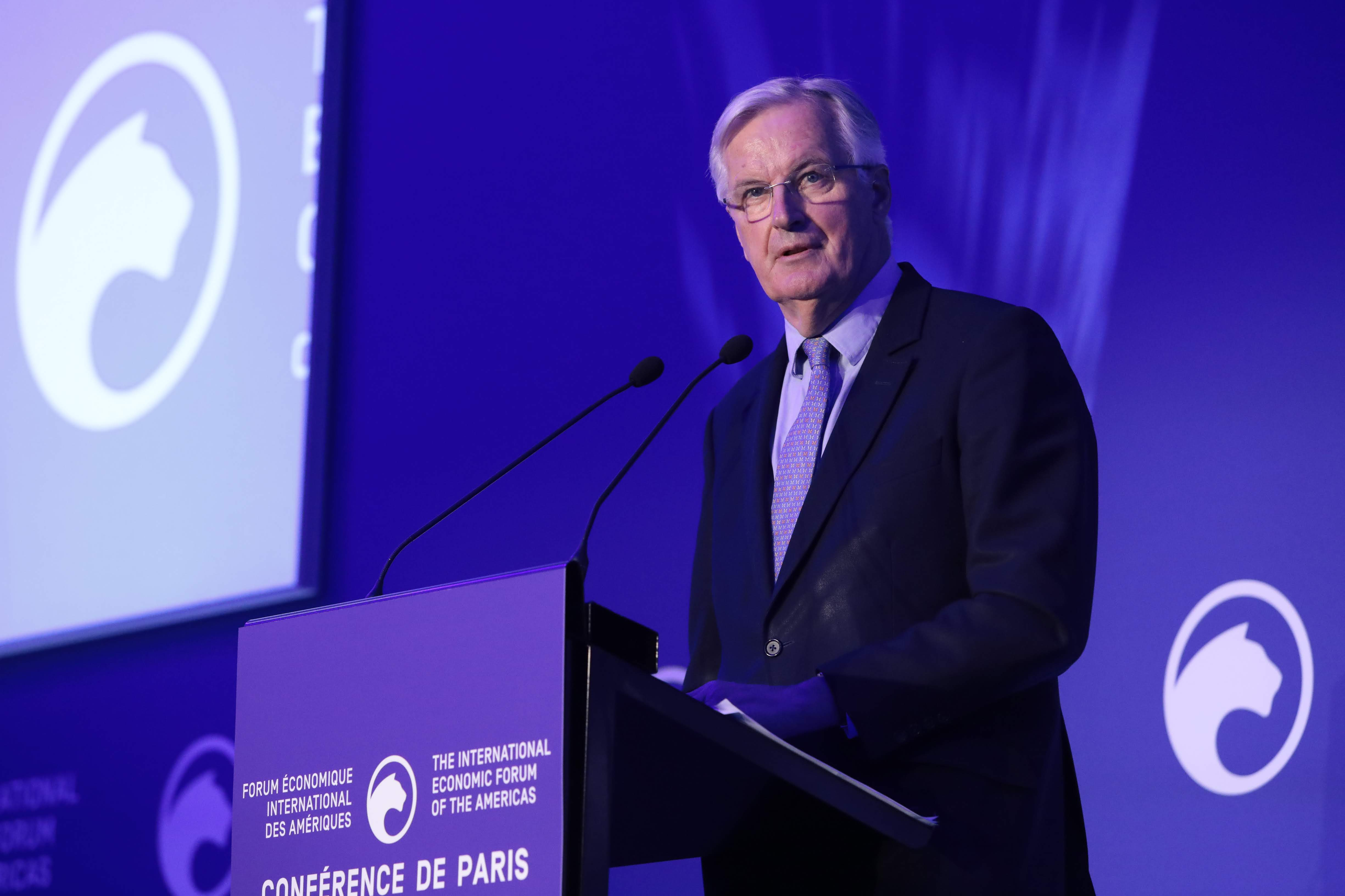 Michel Barnier, Chief Negotiator for Brexit, European Commission - Conference of Paris 2019