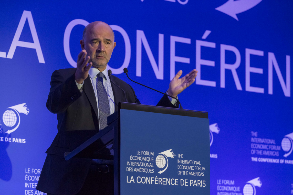 Pierre Moscovici, Commissioner for Economic and Financial Affairs, Taxation and Customs, European Commission