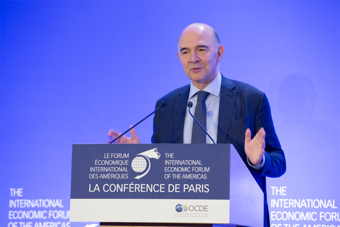 Pierre Moscovici Commissioner, Economic and Financial Affairs, Taxation and Customs, European Commission - Conference of Paris 2017