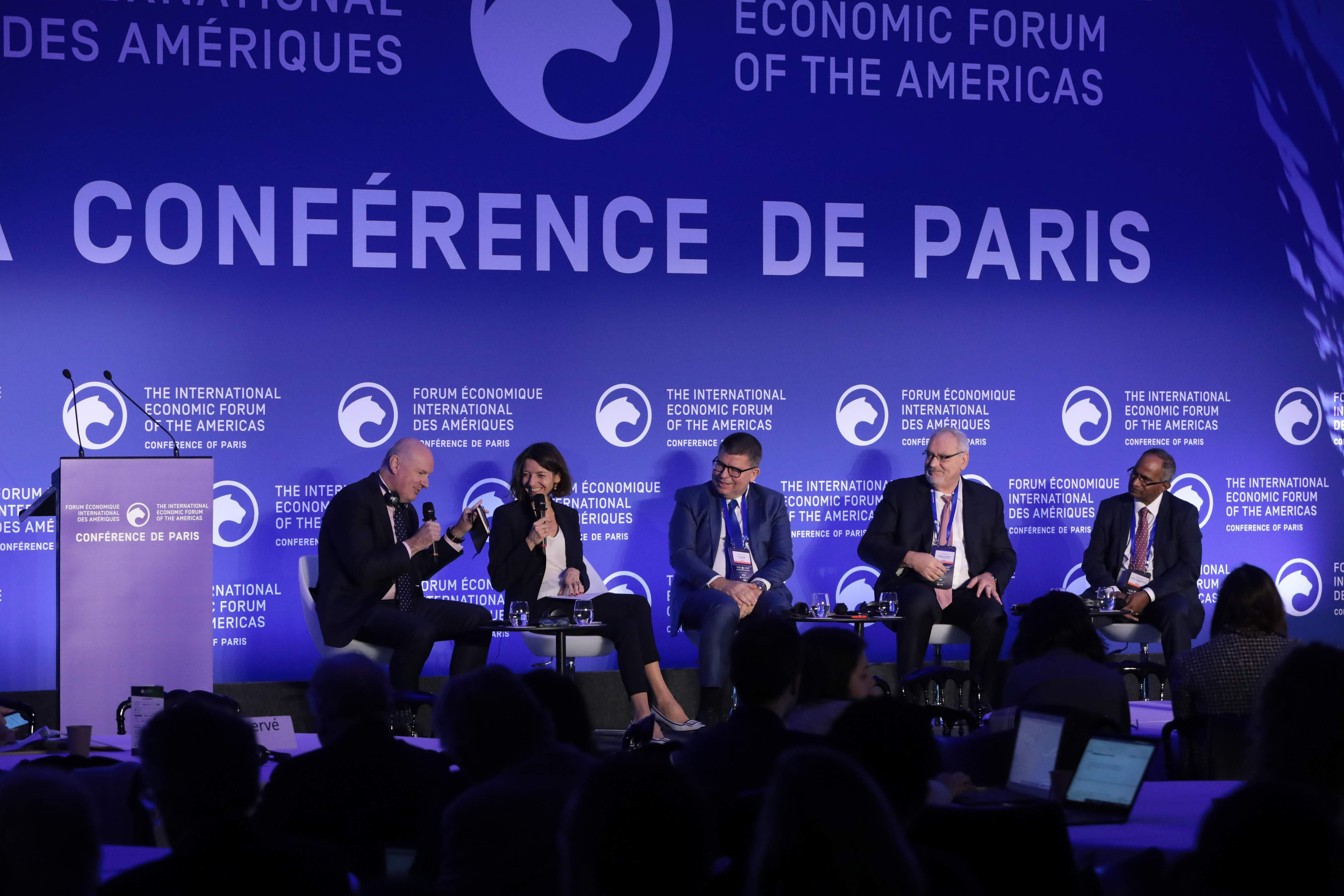 Managing a New Global Economy : Between National and Global Challenges - Conference of Paris 2019