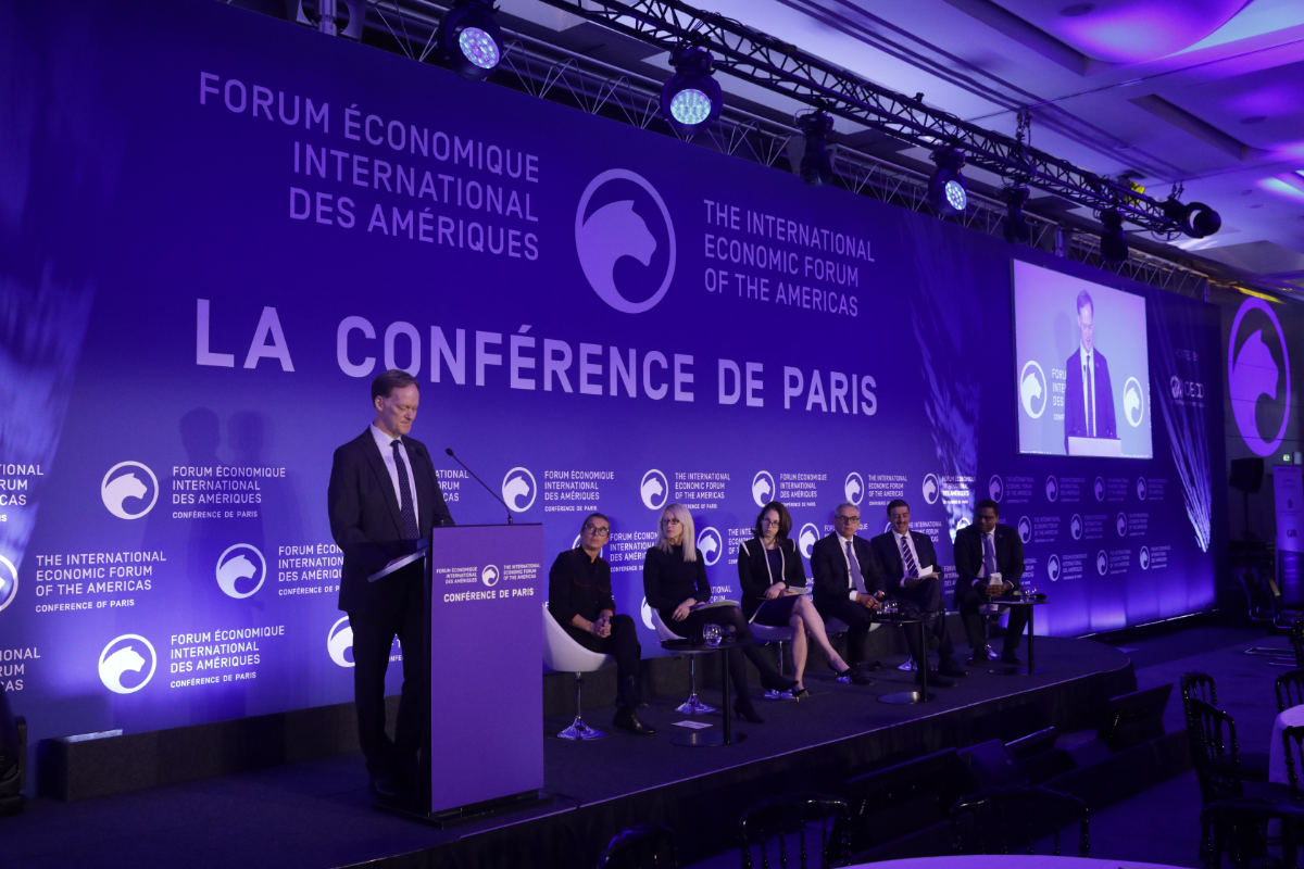 Using Finance As A Stimulator For Long Term Development - Conference of Paris 2019