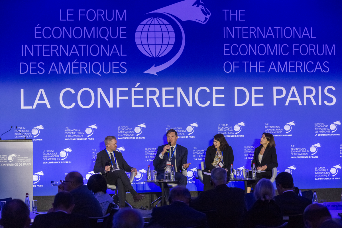 Opening Plenary Session - A Global Economy In Transition - The Conference of Paris 2018