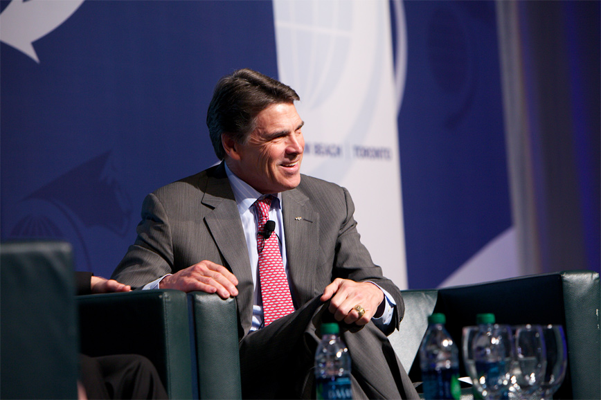 Rick Perry, Governor, State of Texas - World Strategic Forum 2013