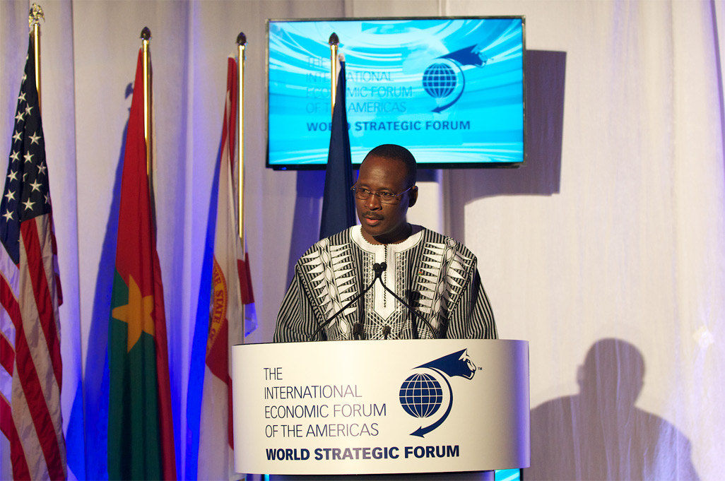 Yacouba Isaac Zida, Prime Minister of Burkina Faso - World Strategic Forum 2015