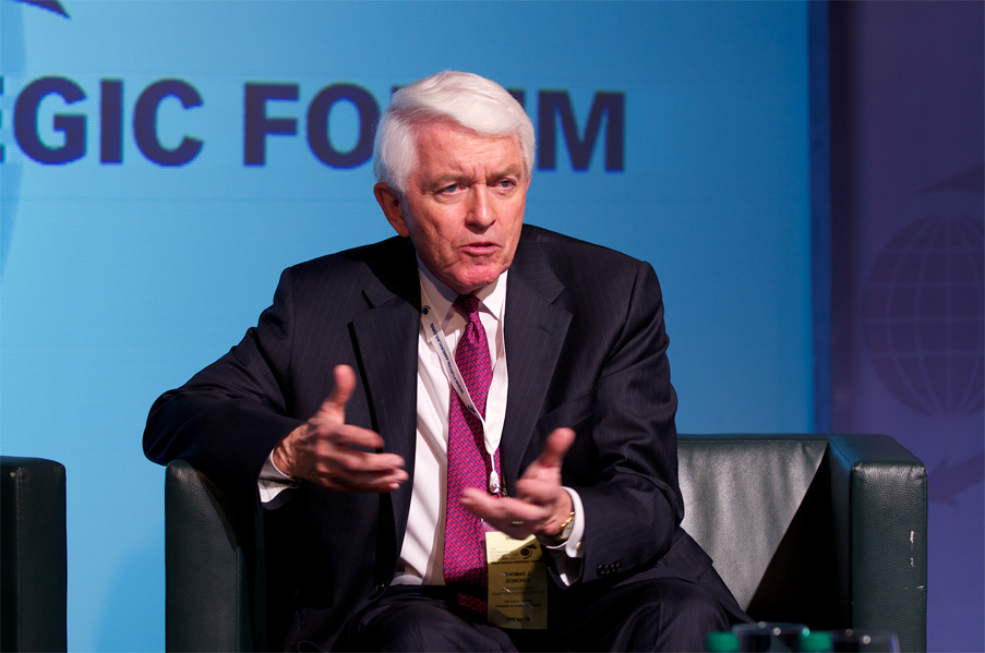 Thomas J. Donohue, President and CEO, United States Chamber of Commerce  - World Strategic Forum 2013