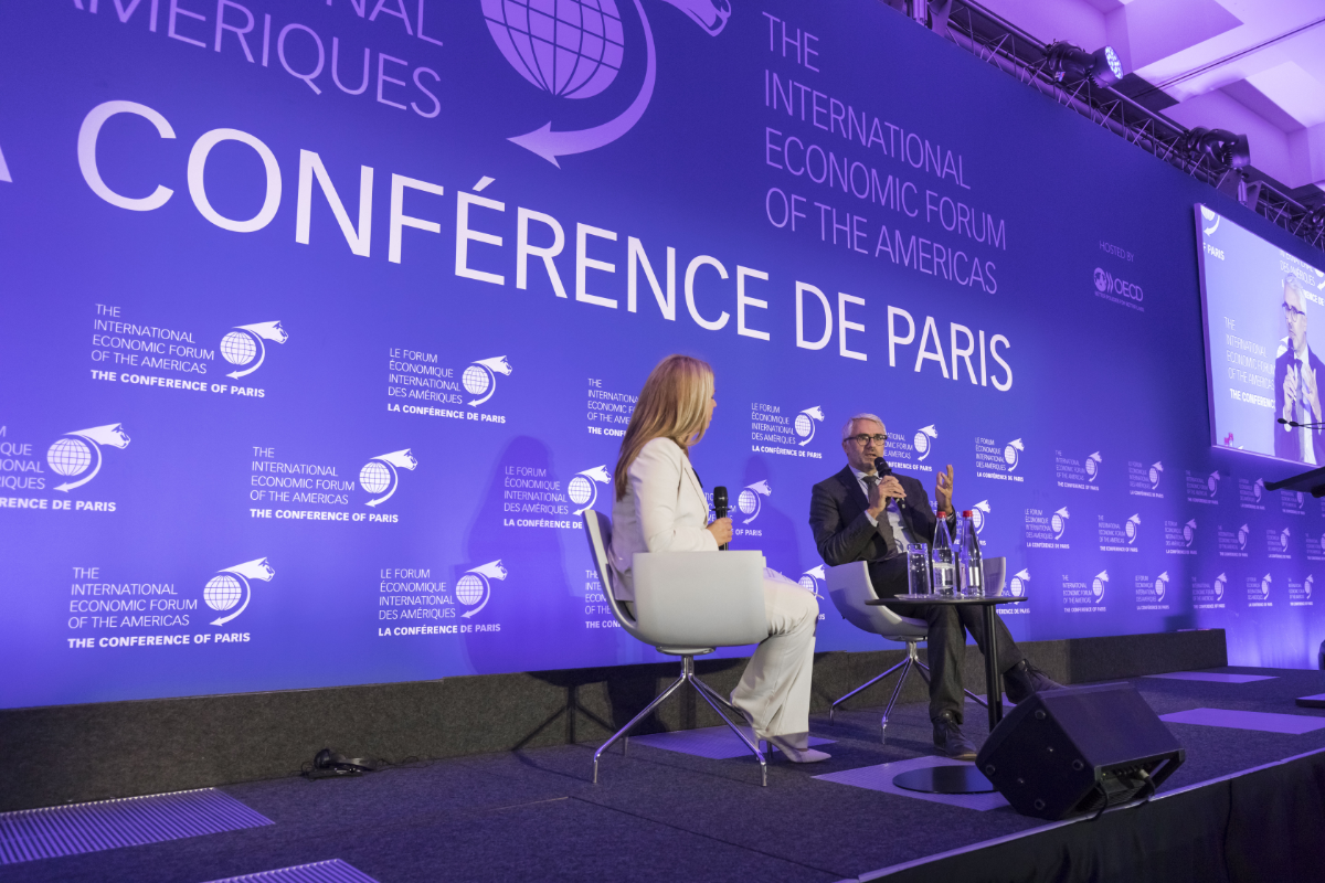 Pascal Saint-Amans, Director, Centre for Tax Policy and Administration, Organisation for Economic Co-operation and Development (OECD) and Brigitte Alepin, Expert in tax planning and tax policy; and Professor, ESG UQAM