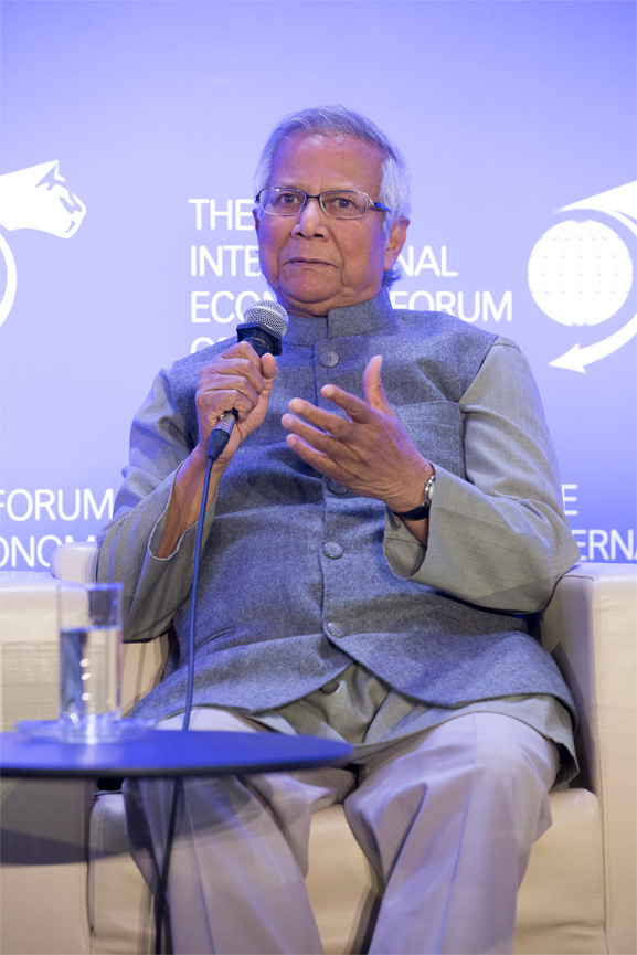 Muhammad Yunus Founder, Grameen Bank; and Nobel Peace Prize 2006 - Conference of Paris 2017