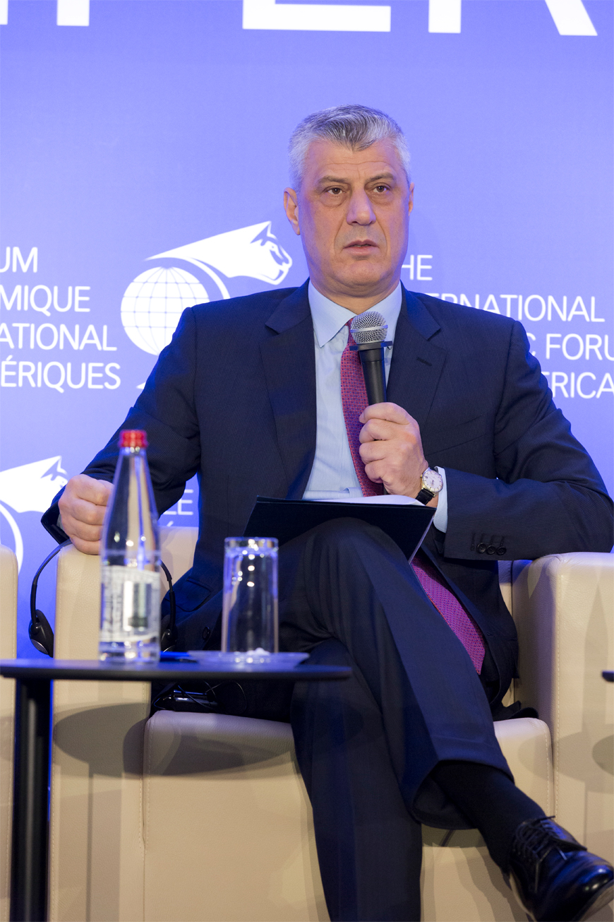 Hashim Thaçi, President of the Republic of Kosovo