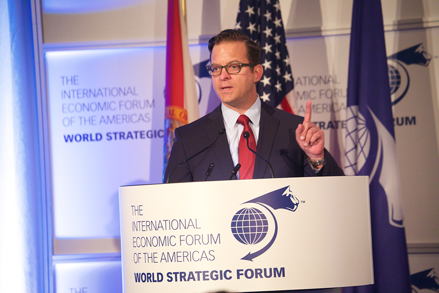 Carlos López-Cantera, Lieutenant Governor of Florida - World Strategic Forum 2018